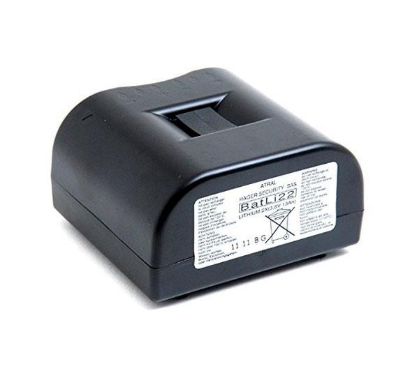 Bloc lithium pour alarme Daitem 2 x (3,6 V - 13 Ah) BATLi22