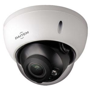 Caméra dôme varifocale 2Mp, IR 50m, IP67, POE Daitem SV124DX