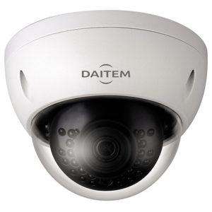 Caméra mini-dôme à focale fixe 2 Mp, IR 30m, IP67, POE Daitem SV122DX