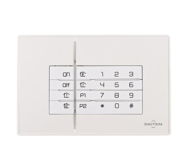 Clavier de commande et d'information Daitem SH630AX