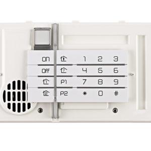 Clavier vocal lecteur de badge et détecteur d'approche Daitem BH640AX