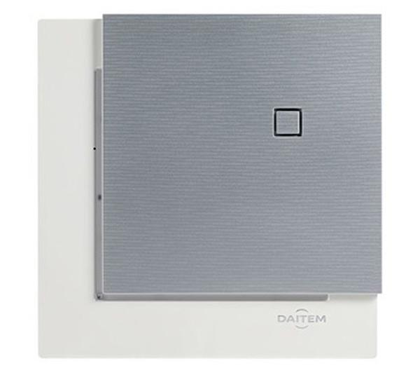 Face avant Titane pour centrale e-Sens Daitem BH804AX